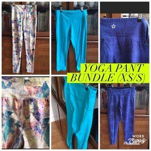 BUNDLE: Yoga pants/leggings